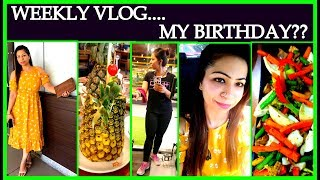 Fat to Fab Weekly VLog | My Food My Lifestyle | My Birthday | Health & Beauty thumbnail