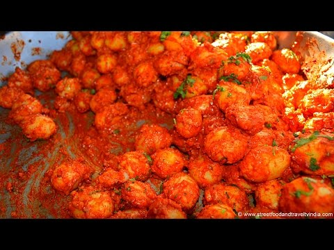 Spicy as a Hell! Tasty as well. Street Food India.