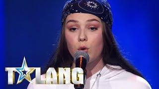 Dao trotsar sin scenskrack nar hon sjunger Fix you i Talang - Talang (TV4)