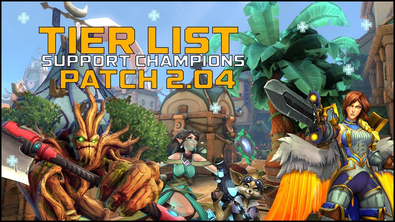 Paladins Tier List 2020.Paladins Pro Support Tier List For Patch 2 04