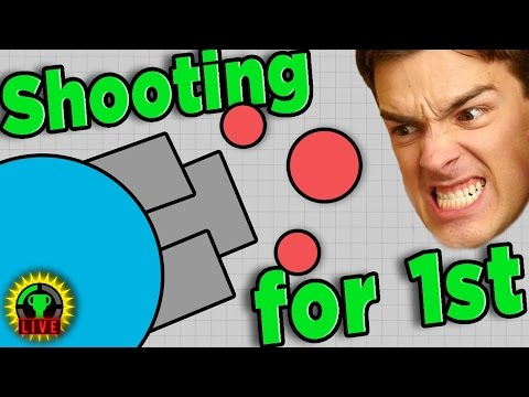 RAGING at the Newest Agar.io Shooter - Diep.io