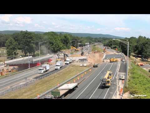 Connecticut DOT I-84 Bridge Replacement in Southington