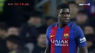 Samuel Umtiti vs Atletico Madrid (Home) 16-17 HD (7/2/2017)