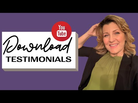 How To Download An Unlisted Video TESTIMONIAL From YouTube