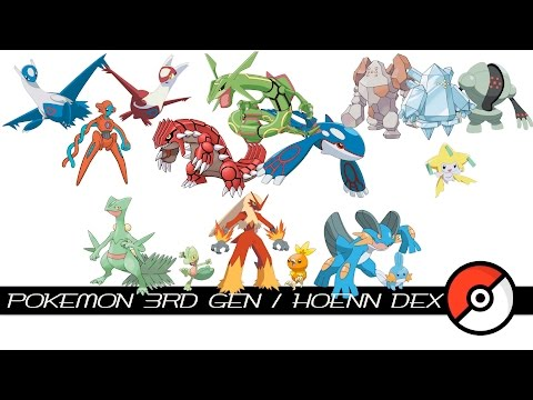 Pokemon 3rd Gen / Hoenn Dex