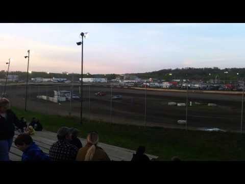 Peoria Speedway 4/23/16 Crate Mod Shannon Liescke #55