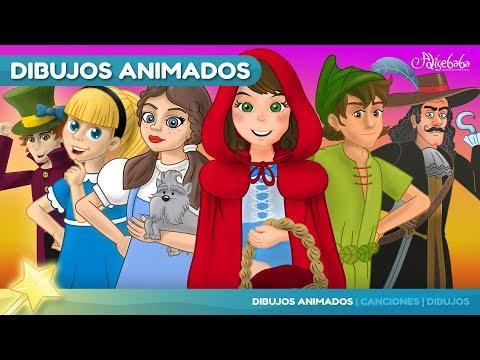 Peter Pan y 5 animado en Español | Cuentos infantiles para dormir
