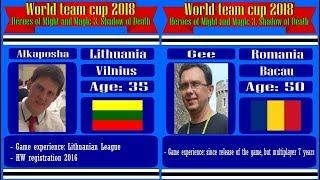 #38. Heroes 3. SoD. World Team Cup 2018. Alkaposha (Lithuania) vs - Gee (Romania).6lm10a