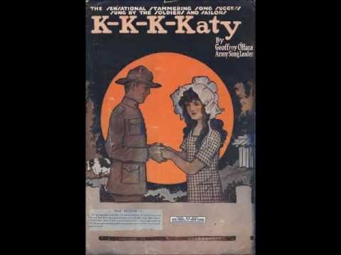 K-K-K-Katy - Billy Murray (1918)