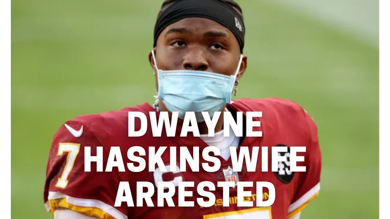 Steelers' Dwayne Haskins injured by wife in alleged domestic ...