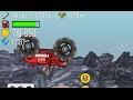 Monster Truck Backflip and HUGE jumps on Hill Climb Racing