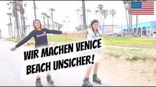 WIR MACHEN VENICE BEACH UNSICHER! | AnKat