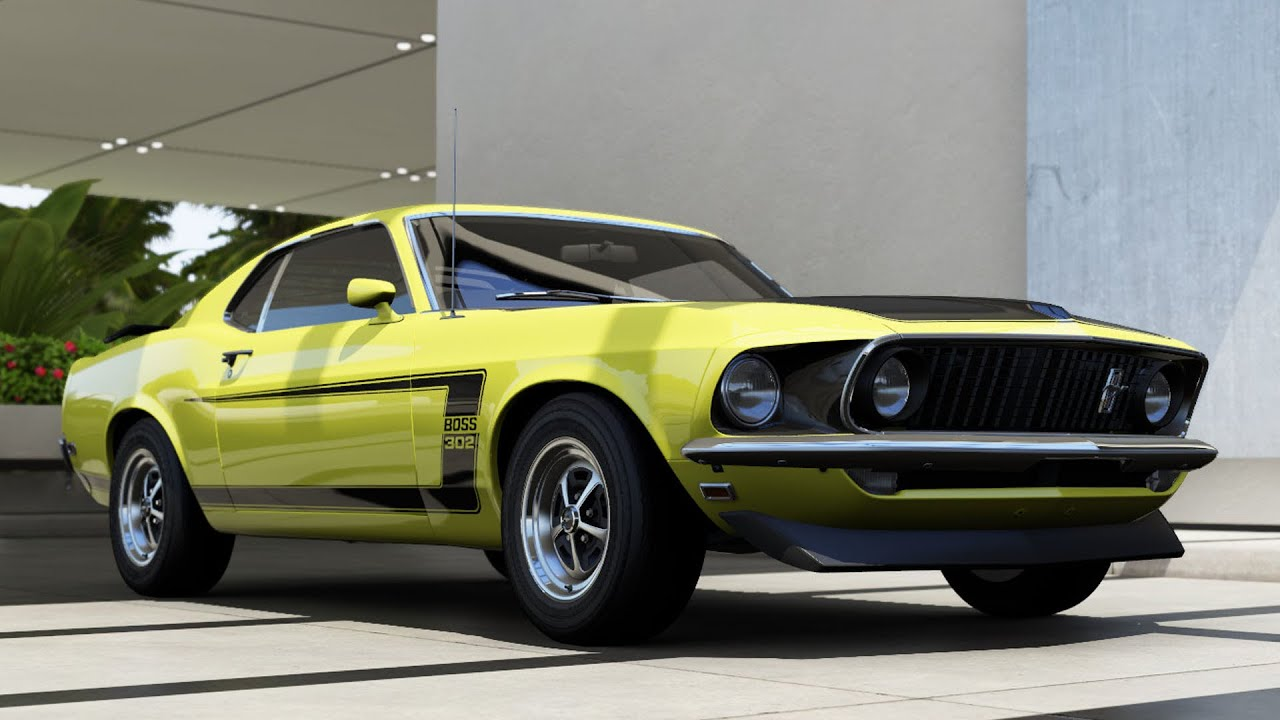 Ford mustang boss 302 1963 forza motorsport 6 apex test drive gameplay pc hd 1080p60fps youtube