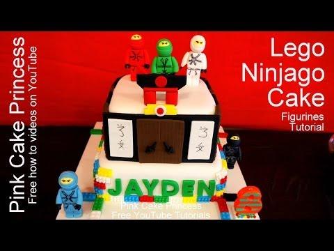 how to make lego ninjago fondant head
