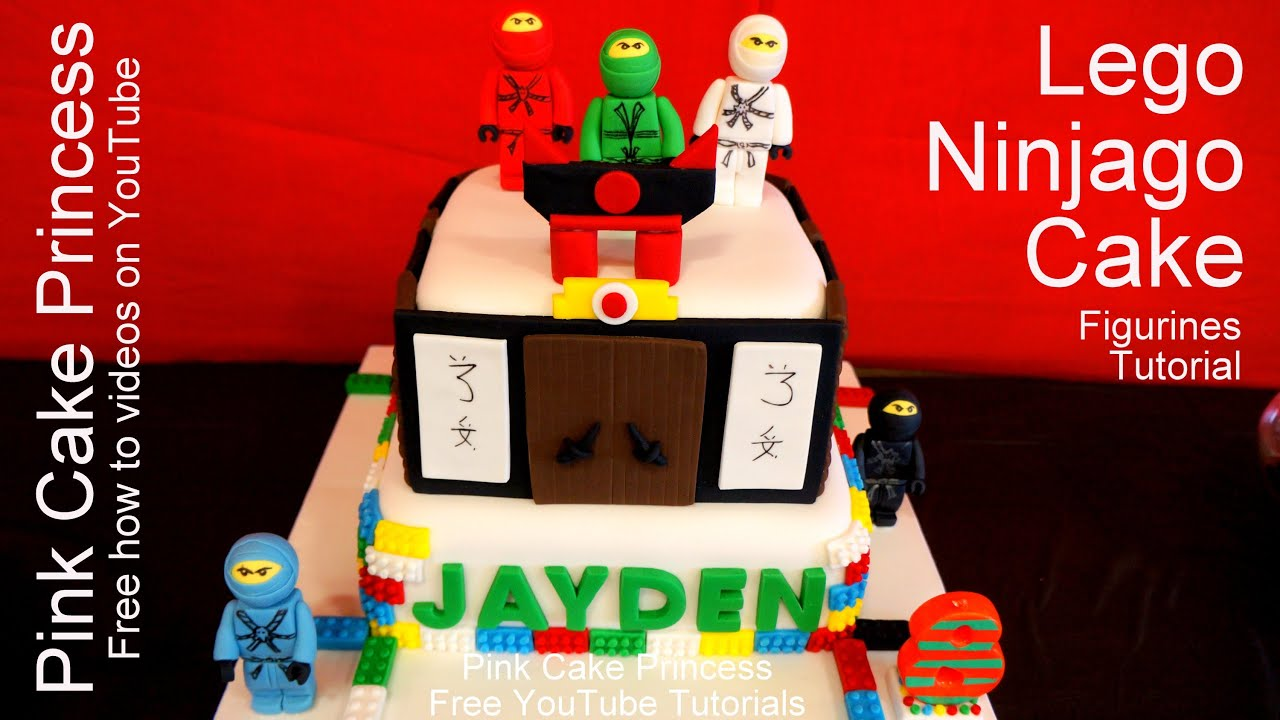How To Make The Lego Movie Ninjago Cake Topper Figurines