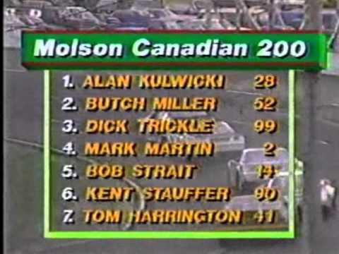 1985 ASA Molson Canadian 200 at Cayuga Speedway
