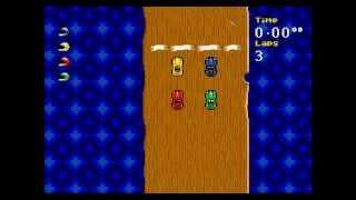 Micro Machines: Turbo Tournament '96 (Mega Drive) - Longplay