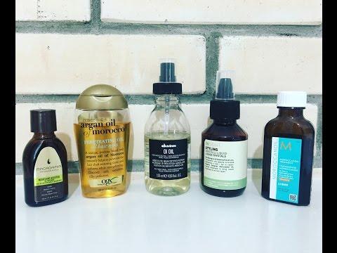 Масла для волос Moroccanoil, Davines, Insight, Macadamia + Kerastase