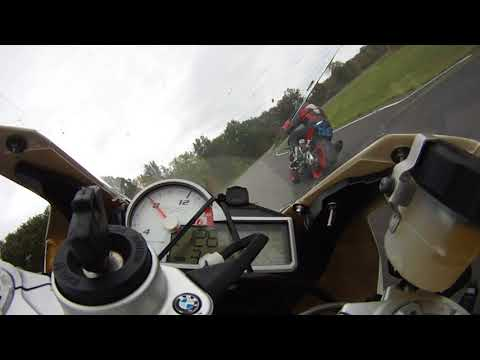 BMW s1000rr at Nelson Ledges Oct 8 2017