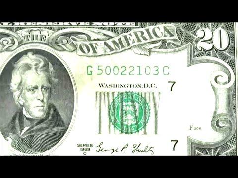 Just Found 1969 C SERIES $20 TWENTY DOLLAR BILL - FEDERAL RESERVE NOTE