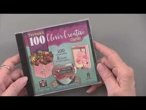 Hot Off The Press 100 Clever Creative Cards Computer DVD