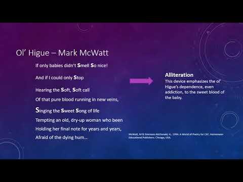 Analysis of Ol' Higue- Mark McWatt