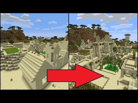 Let's Transform A Minecraft Desert Village!