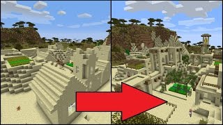 Let's Transform a Minecraft Desert Village!