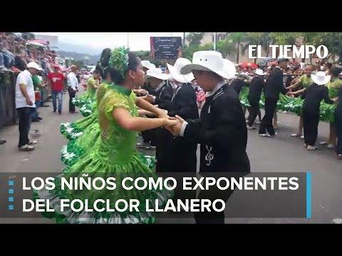 Miles de Niños bailan Joropo en Villavicencio