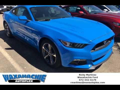 2017 Grabber Blue Mustang Gt