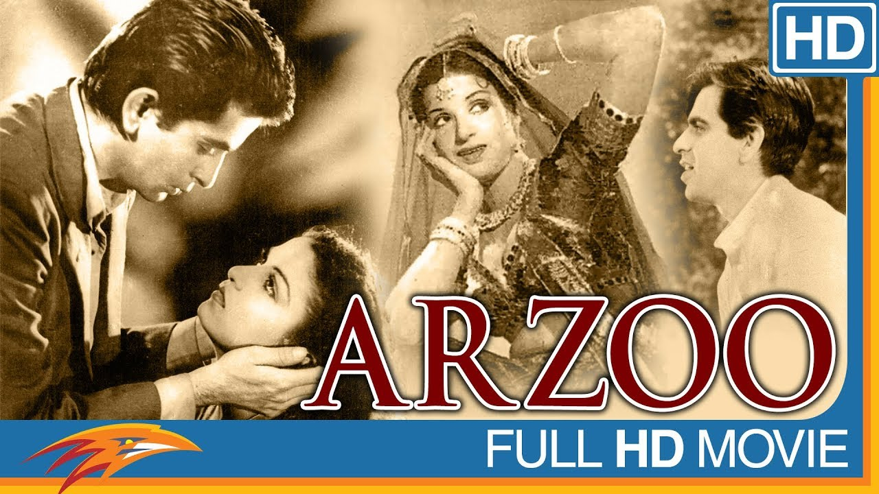 Arzoo Hindi Full Movie HD || Kamini Kaushal, Dilip Kumar || Eagle Hindi Movies 1950