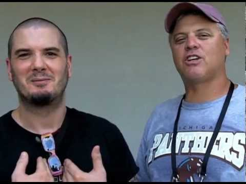 Phil Anselmo & Bobby Hebert at the Saints Training Camp (Aug 3, 2011)
