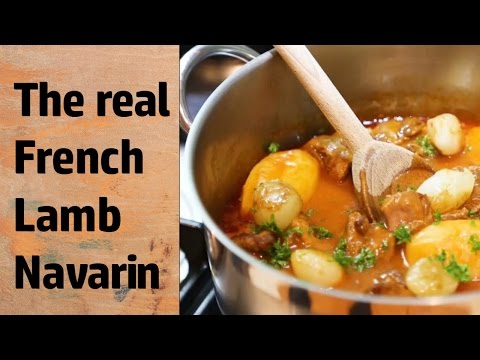 Navarin Of Lamb  (French Lamb Stew) | Classic French Recipes