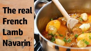 Navarin of Lamb recipe - how to make a French lamb stew -  step by step instructions
