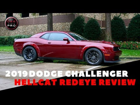 2019 Dodge Challenger Hellcat Redeye Is Fastest, Most Powerful Car We've Ever Reviewed