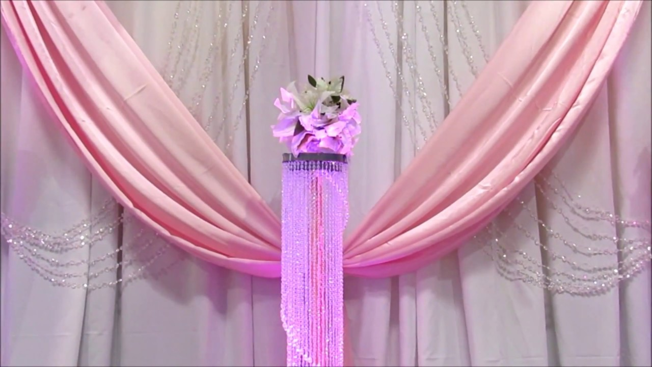 Faos events decoracion nuestra boda color rosa y dorado - Decoracion salon gris y blanco ...