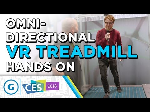 Omni-Directional VR Treadmill Hands On