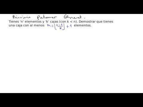 Demostracion principio palomar  (version general)