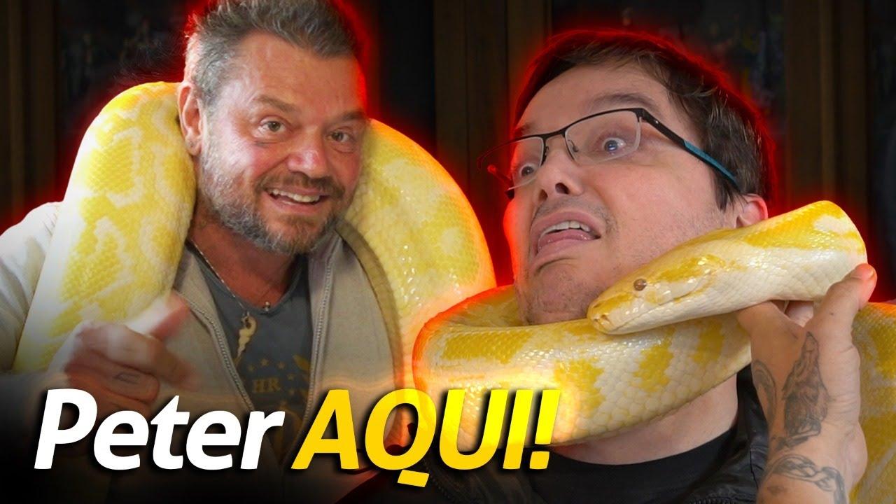 E AÍ GALERA, TRANKS? PETER JORDAN DO EI NERD AQUI! | A CASA DOS BICHOS