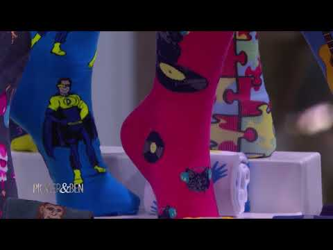 The Heartwarming Story of this Father and Son's Sock Business - Pickler & Ben