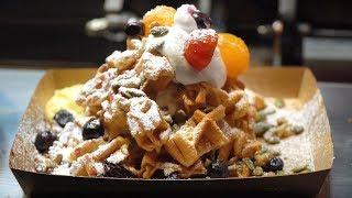 모찌 와플 (Waffle) / 대구 칠성 야시장 / K…