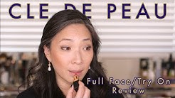 CLE DE PEAU BEAUTE - Full Face / Try On REVIEW
