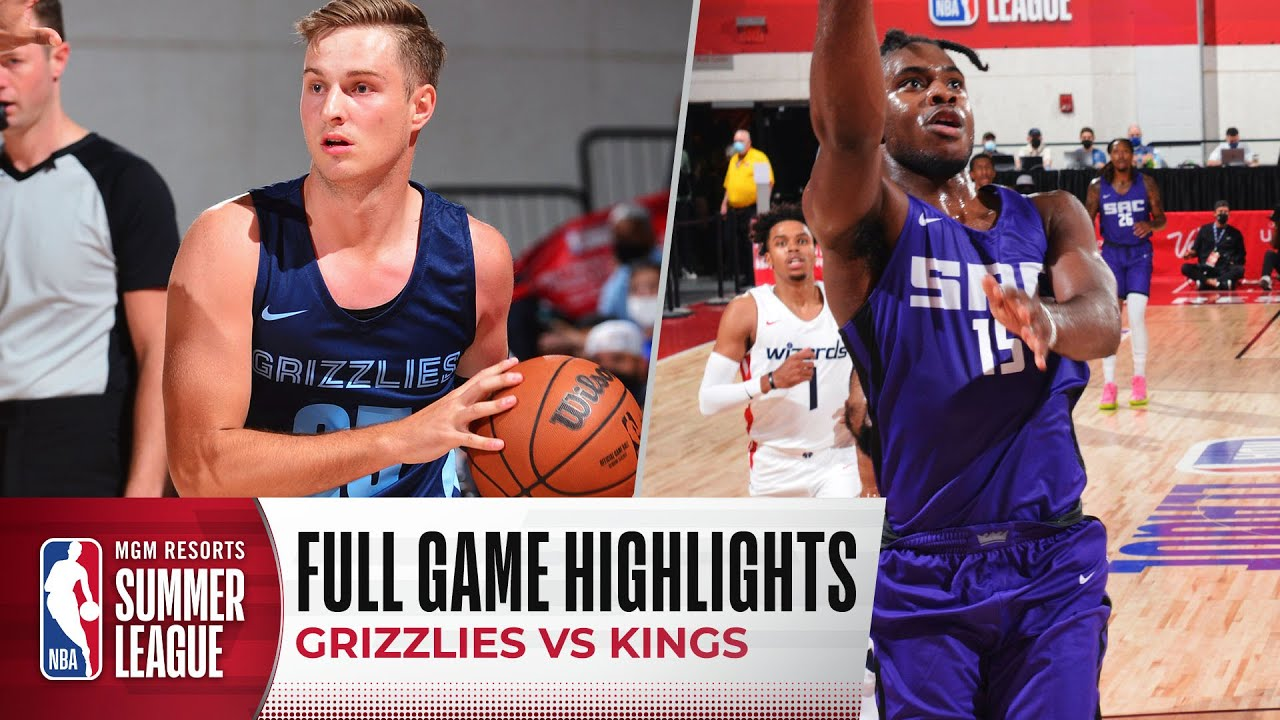 Download GRIZZLIES at KINGS | NBA SUMMER LEAGUE | FULL GAME HIGHLIGHTS