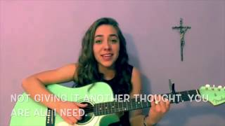 Can't Live Without - Hollyn // Acoustic Cover by Rachel Praise (with rap)