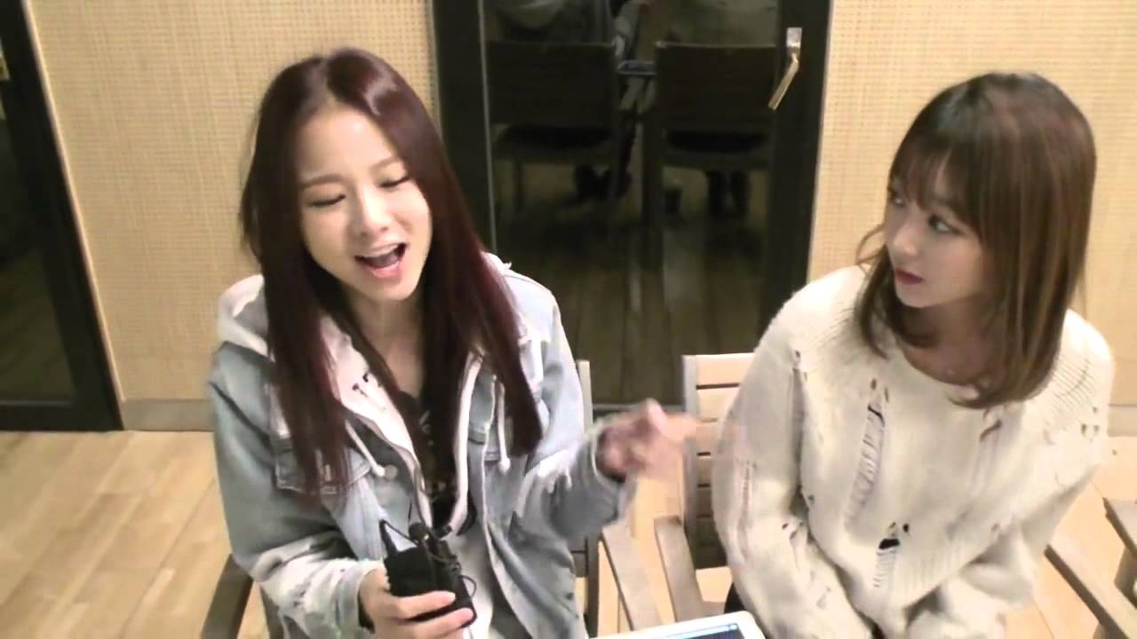 Download (CUT) EXID Solji and Hyerin singing Up&Down's chorus @ KoonTV 141126