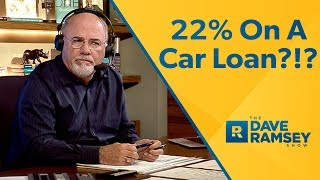 22% Interest On A Car Loan?!