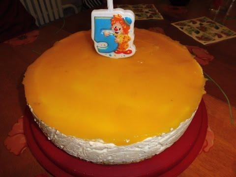Торт творожный ягодка