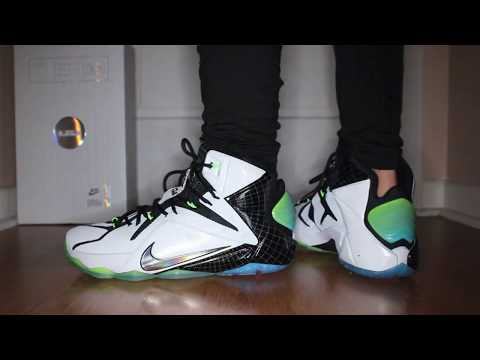 Под прицелом #10: Nike LeBron 12 VS Elite - YouTube