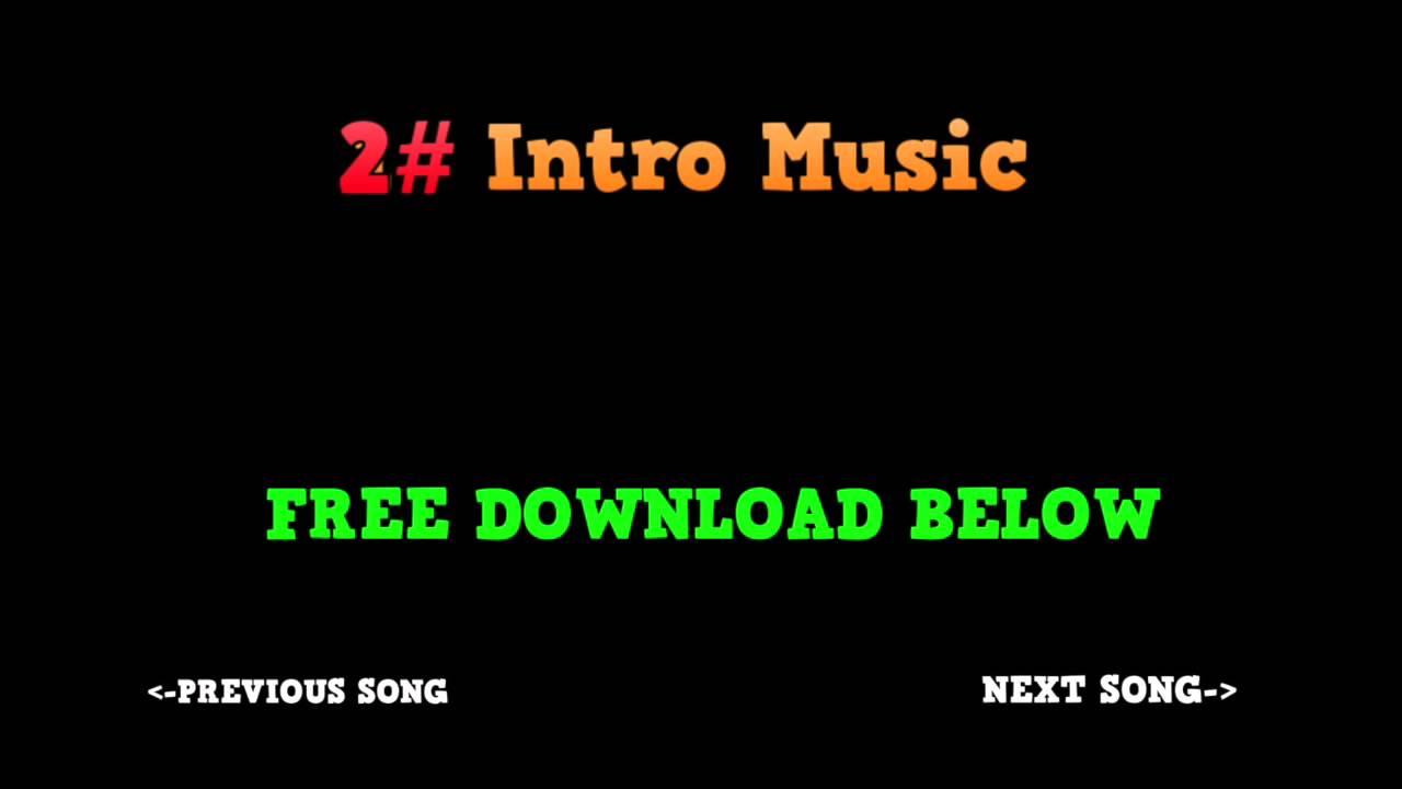 Youtube intro outro music drop 2 no copyright free download youtube for Free youtube intro download