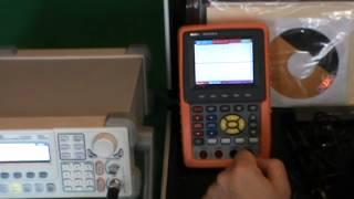 Осциллограф-мультиметр HDS-1022M-N, переносной осциллограф Owon HDS1022M N
